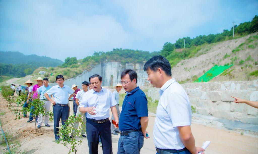 国家发改委来我县督察指导长江经济带生态环境突出问题整改工作