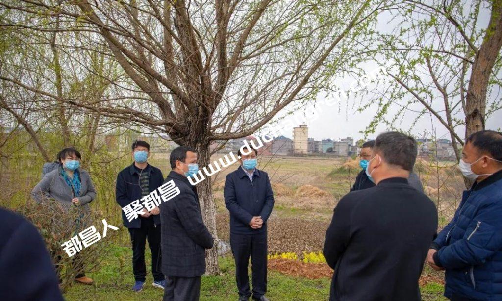 县长钟有林深入现场调研指导重点项目建设、城市建设管理及大气污染防治工作