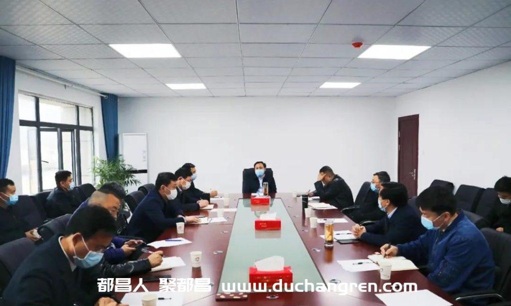 县长钟有林现场调研指导重点产业发展工作